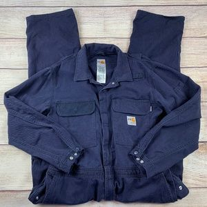 Carhartt FR 42 R Flame Resistant Deluxe Coveralls